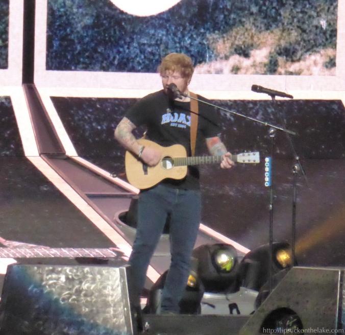 Ed Sheeran Divide Tour St Paul