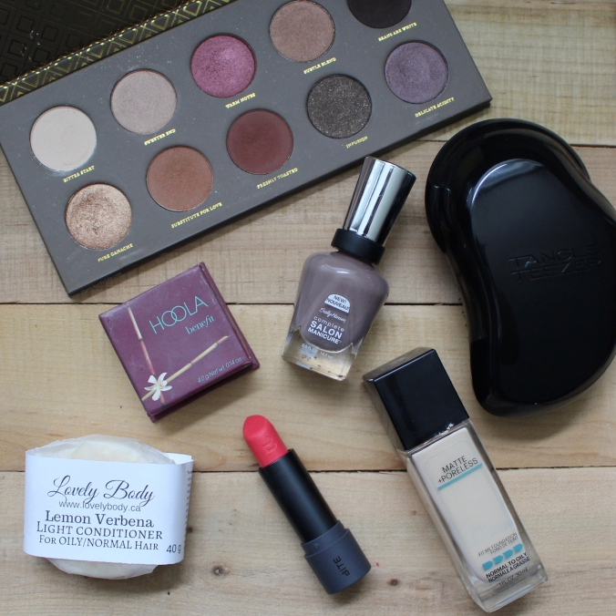 June & July Makeup Favourites