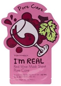 Tonymoly I'm Real Red Wine Mask Sheet