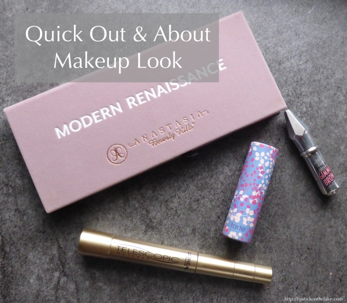 quick out & about makeup look abh-modern-renaissance