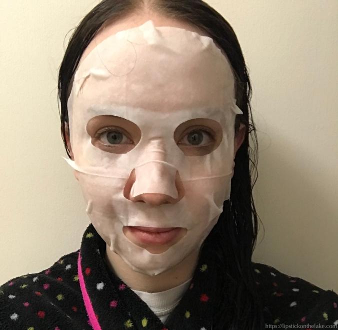 Tony Moly I'm Real Avocado Mask Sheet demo