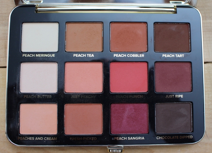 Pantone Coral Makeup Too Faced Just Peachy Mattes