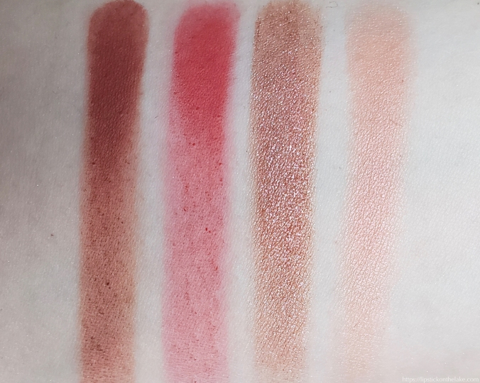 Colourpop Custom Palette Reds Swatches