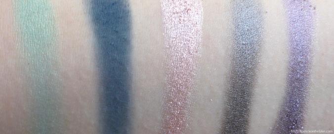natasha denona eyeshadow palette 5 colour 1 swatches