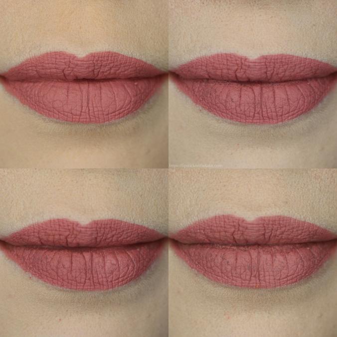 Jouer Lip Crème Blush Wear Test