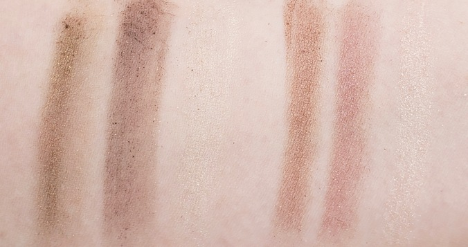 Almay Smokey Eye Trios Swatches