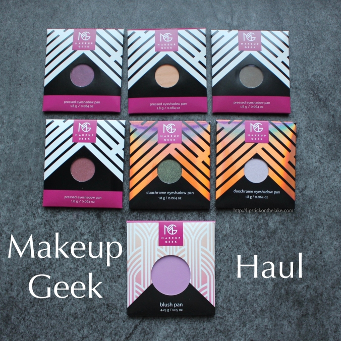 Makeup Geek Haul