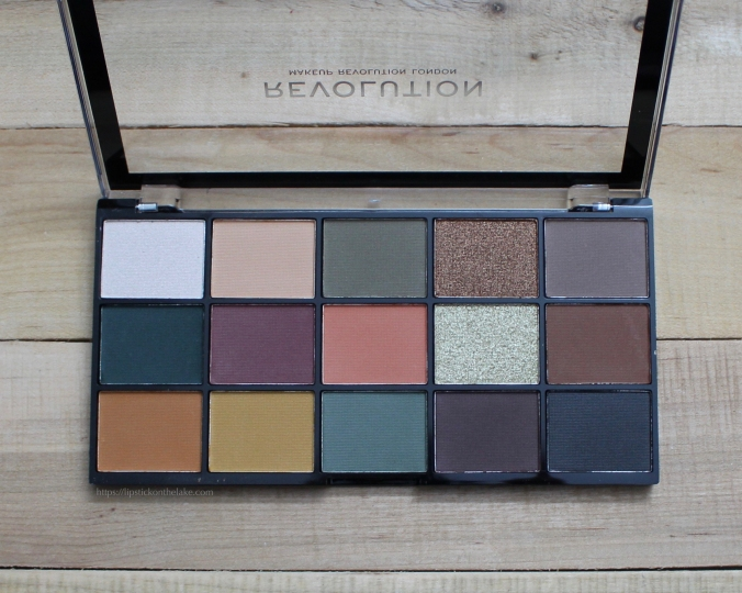 Makeup Revoltion Reloaded Iconic Palette
