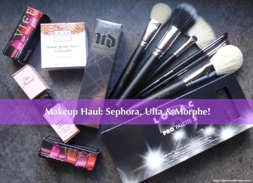 Sephora-Ulta-Morphe-Haul