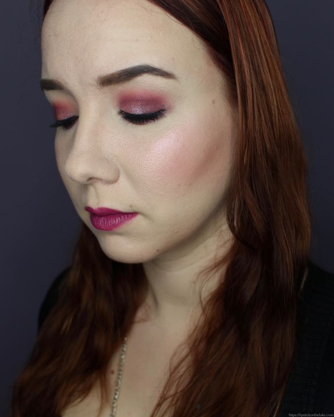 NYE Makeup Look Huda Beauty Amethyst Obsessions