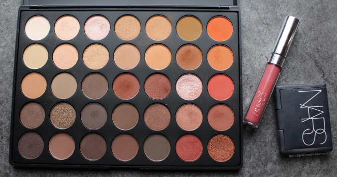 Morphe 35O Makeup Look