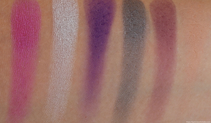 Makeup Revolution Constellation Palette Swatches Row 3