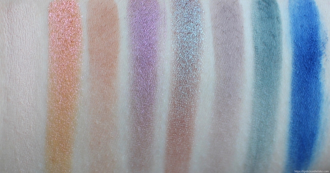Kat Von D 10th Anniversary Eyeshadow Palette Swatches