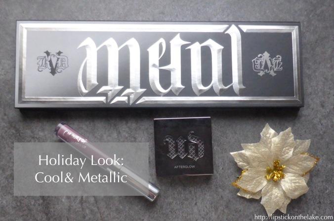 Cool & Metallic Holiday Look