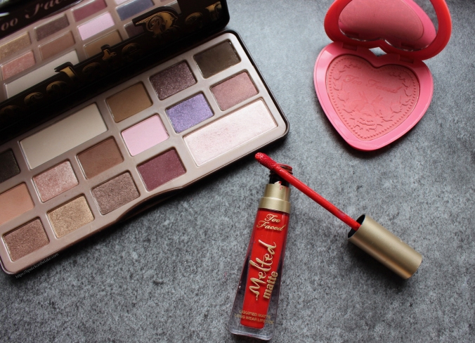 Too Faced Most Used Products