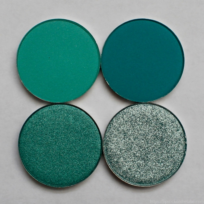 Colourpop Custom Palette Teals