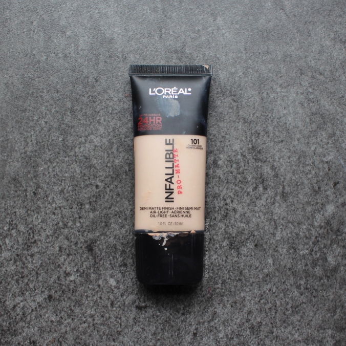 Oily Skin Essentials - L'Oreal Pro-Matte Foundation