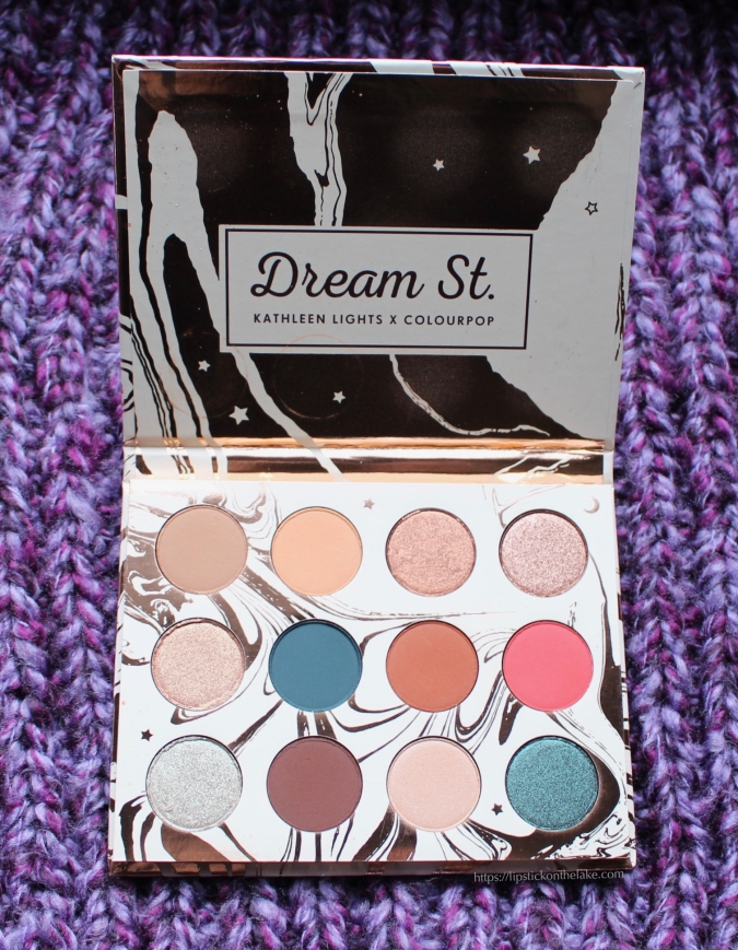 Colourpop x Kathleenlights Dream St Palette