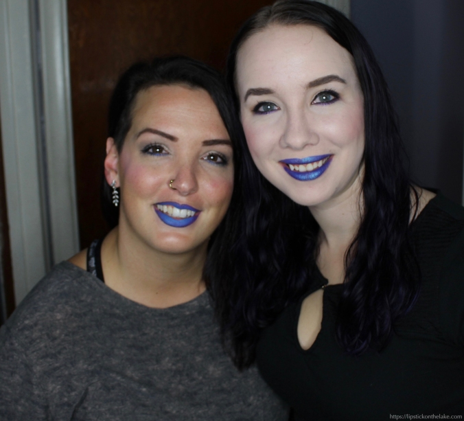Blue Lipstick Night