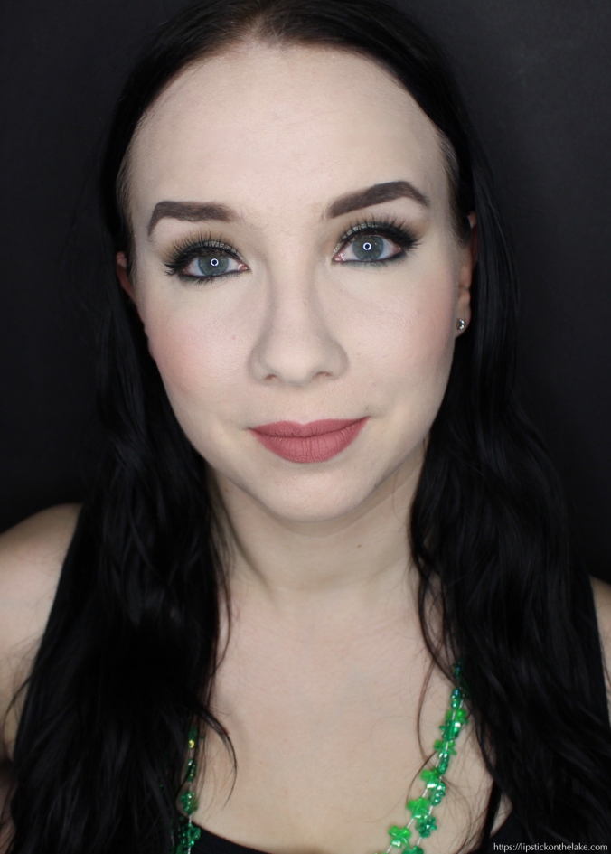 St Patrick's Day Makeup Look
