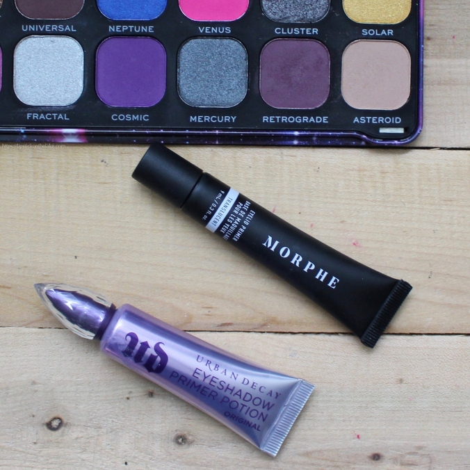Urban Decay Eyeshadow Primer Potion vs. Morphe Eyelid Primer